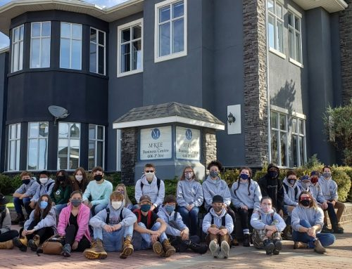 Students learn about home construction with McKee's Building Futures program
